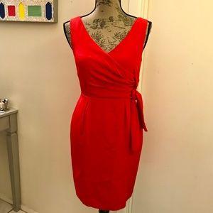 ✨NWT Shoshanna 100% Silk V Neck Dress